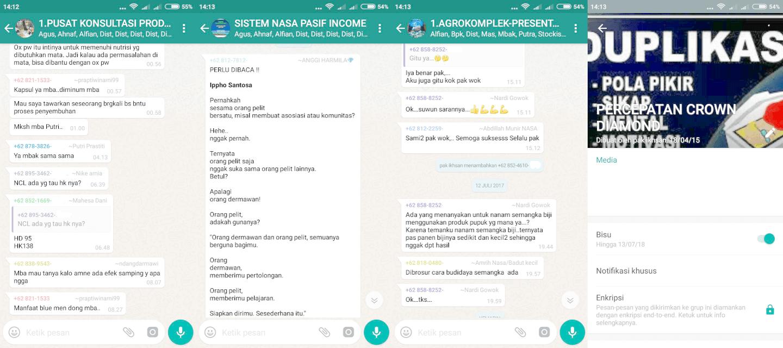 Cara Mendaftar Distributor Nasa Agen Resmi Penan Contoh Group Bimbingan Di Whatsapp